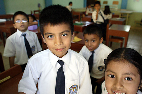 School children, Chiclayo, Peru, 2005.