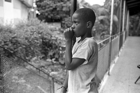 School boy, Buff Bay, Jamaica, 2006.