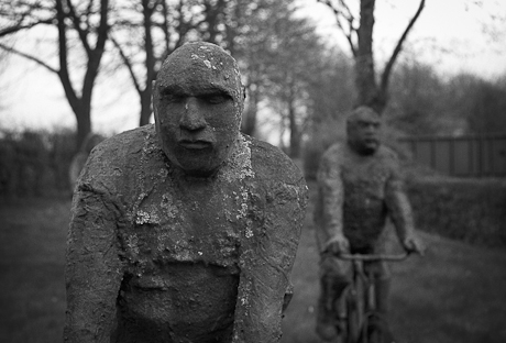Statues, Grand-Leez, Belgium, 2009.